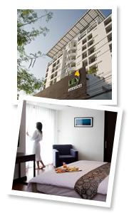 Suvarnabhumi Airport Hotel Airport Hotel In Bangkok Lily Residence